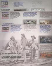 US HISTORY #4522-4523, 4664-4665, 4787-4788 THE CIVIL WAR 1861, 1862 + 1863 MEVF