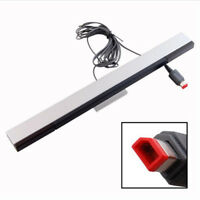 New Wired Infrared IR Signal Ray Sensor Bar/Receiver for Wii or Wii U Remote KK