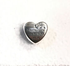 Pandora Heart of Freedom, Bead Charm #791967 +Gift Packaging +Gift Pouch
