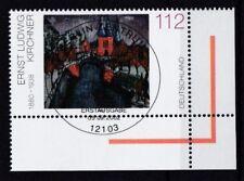 BRD 2002 gestempelt ESST Berlin Eckrand MiNr. 2279  Deutsche Malerei