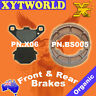 FRONT REAR Brake Pads Shoes for Kawasaki KX 250 1983-1985