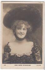 Miss Marie Studholme RP PPC, Ulverston 1904 PMK to Mrs High, Swarthmoor