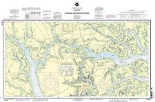 NOAA Chart Parts of Coosaw and Broad Rivers 13th Edition 11519