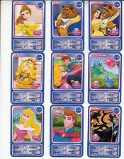 "LOT DE 9 CARTES DISNEY AUCHAN  ""PRINCESS""...."