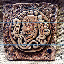 Mayan Maya Wall Plaque Mexico Mexican Aztlan Aztec Inca Ancient Sun Pottery Art