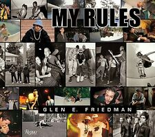 MY RULES GLEN E FREIDMAN SKATE ARTIST BOOK NEW
