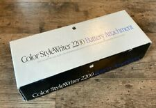 Apple Color StyleWriter 2200 Battery Adapter NIB Macintosh Printer Attachment