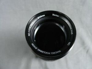 Fogged Glass - Vivitar Series 1 70-210mm f/3.5 Lens For Minolta