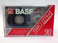 BASF FERRO EXTRA I 90 BLANK AUDIO CASSETTE TAPE NEW RARE 1993 YEAR KOREA MADE
