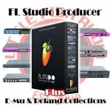 FL Studio 20 Producer + E-Mu & Roland 70Gb Sample Library Mega Bundle!