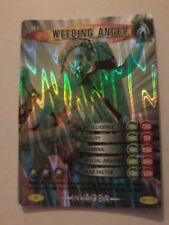 Super Rare Dr who battles in time card weeping angel 462