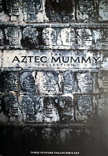 THE AZTEC MUMMY COLLECTION cofanetto box - Portillo 3 DVD collector's set OOP