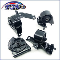 BRAND NEW SET OF ENGINE MOTOR & TRANS MOUNTS FOR TOYOTA COROLLA GEO PRIZM 1.6L