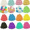 "100PCS HELIUM Pearlised Latex Balloons 10"" Wedding Birthday Party CHRISTENING Vv"