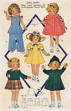 "418 Vintage Shirley Temple Doll Sizes 18"" &/or 20"" - Year 1936"