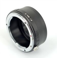 ZJ AI-M4/3 Adapter Ring Nikon F Lens to MICRO 4/3 E-M5 E-PM2 E-PL5 GX1 GF5 G5 G3