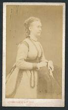 CDV c. 1880 - Madame RICHOMME Femme du Peintre - T539