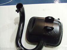Vespa PX125 PX150 Standard Exhaust Black