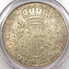 1819-R Brazil 960 Reis (960R) - Pcgs Ms62 - Rare Bu Unc Certified Coin