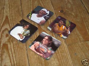Rafael Nadal Tennis Legend Wimbledon Drinks Coaster Set