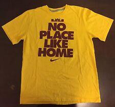 Rare Nike NBA Cleveland Cavilers LeBron James No Place Like Home T Shirt