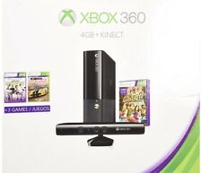 Xbox 360 4gb Kinect Holiday Bundle + 6 GAMES!!!!