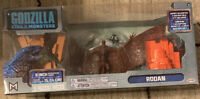 """Godzilla King of The Monsters Rodan 6"""" Articulating Figure w/ Helicopter & City"""