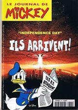 journal De MICKEY n° 2311 2 octobre 1996 revue magazine donald daisy minnie