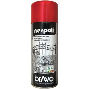 Bombe de peinture professionnelle Nespoli - rouge métallisé