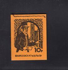 Great Britain 10p Pillar Box Machin Booklet February 1975 Dn70