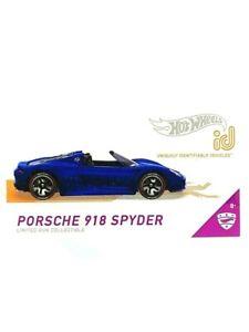 Hot Wheels HW ID Porsche 918 Spyder