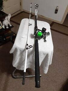 Trolling fishing Rod Tsunami 8'20lb And Trolling Reel Shakespeare Arsenal Lot...