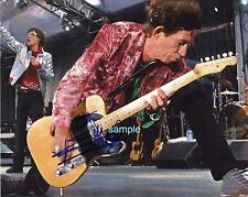 KEITH RICHARDS 2 REPRINT 8X10 AUTOGRAPHED SIGNED PHOTO PICTURE ROLLING STONES RP
