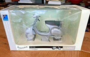 AUTOart - MOTORCYCLE - 1:12   VESPA GS 150, 1957, SILVER NEW