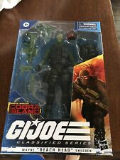 g.i. joe classified ?Beach Head?, Brand new Unopened