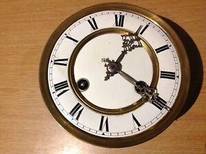 Vienna Clock Movement  & Face  Dial 145mm Diameter Clockmakers Spares