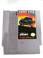 Knight Rider ORIGINAL NINTENDO NES GAME Tested + Working & Authentic!