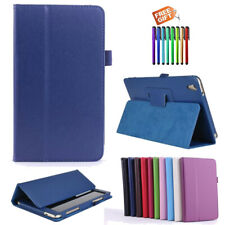 Samsung Galaxy Tab 3 4 S S2 S3 S4 S5e S6 E A Flip Slim Magnetic Case Cover Stand