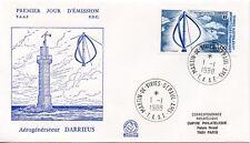 FDC / T.A.A.F. TERRES AUSTRALES TIMBRE  N° 130 / AEROGENERATEUR DARRIEUS