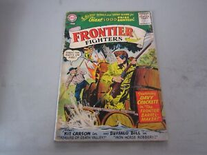Frontier Fighters #7 Comic Book 1956