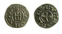 pcc2125_2) Genova Repubblica (1139 - 1339) Denaro con Castello