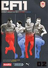 Programa de Cardiff V Everton 2013/14 Como Nuevo