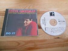 CD Jazz Steve Grossman - Do It (9 Song) DREYFUS JAZZ POLYGRAM