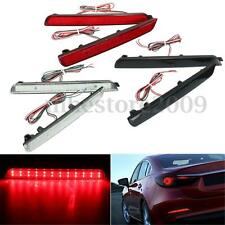 2x 24 LED Rear Bumper Reflector Tail Brake Stop Running Light For Mazda 3 04-09