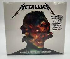 Brand New Sealed Metallica 2 CD Set Hardwired To Self-Destruct - 2016 RELEASE