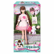 Seventeen MIMI with poodle dog Doll Character Figure Fairy toy girl Korea Barbie