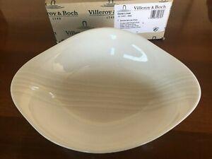 Villeroy & Boch dune lines coppa fonda ovale 27 cm. porcellana