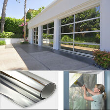 3FT x 100FT One Way Mirror Privacy Reflection Window Tint Film Reduce Heat 5%