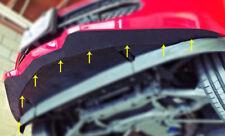C6 Corvette 2005-2013 Front Bumper Scrape Protection - No Drilling Required