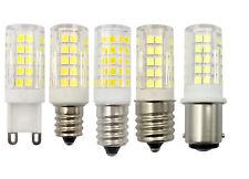 G9/E12/E14/E17/BA15D LED Light bulb 5W 64-2835SMD Ceramics Lamp White/Warm White